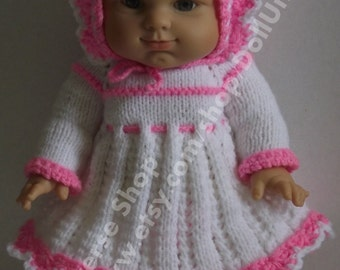 Hand knitted Set for Paola Reina Gordi 14 (34cm)