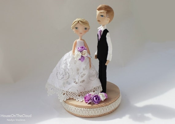 personal wedding cake toppers uk personalized rustic wedding cake toppers and groom 18293