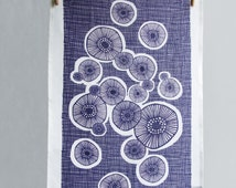 Linen Tea Towel - Lichen
