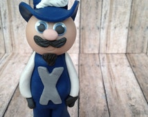Xavier Musketeer, Xavier ornament, Muketeer ornament, XU Christmas ornament, Xavier Universtiy Christmas ornament