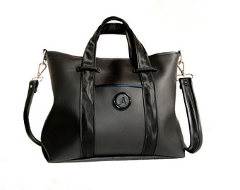 "Everyday handbag ""Bojana""  - crossbody purse,  custom design, gift for women"