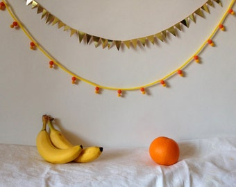 Set of two handmade garland)