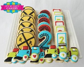 Train Themed Cookies (1 Dozen)