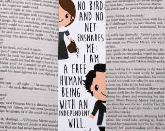 Jane Eyre Quote Bookmark