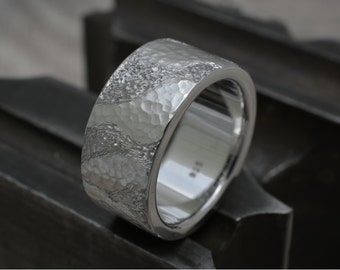 Silver ring, friendship ring, men ring, band ring