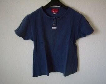 Polo/Tshirt women's short sleeve SC Line, size M, Vintage 1980