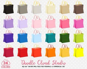 Shopping bag clipart – Etsy
