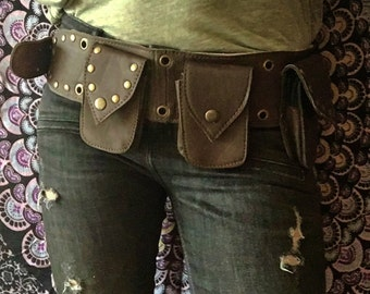Rinoners Lea / steampunk festival pocket belt