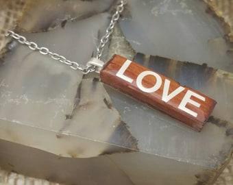 Love Cedar Pendant