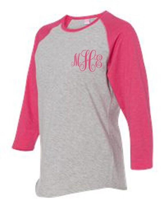 Items similar to baseball t shirts embroidery monogram