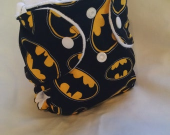 Batman Fitted, AIO or Pocket Diaper
