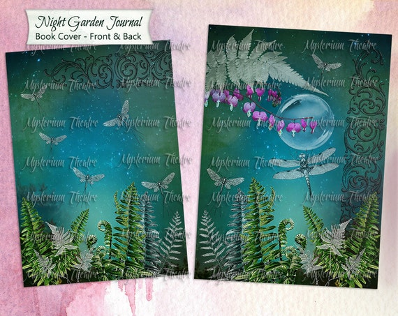 Digital Journal Book Cover In the Night Garden by