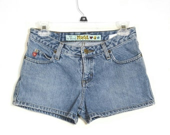 Vintage 1990s Mudd Denim Short Shorts, Jr's Sz 5