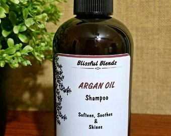 50% OFF All Natural Nourishing Argan Oil Shampoo 8 oz