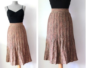 Vintage 1970's Missoni Skirt - Missoni Midi Skirt - Size S/M