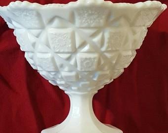 Westmoreland Glass Company Milk Glass White Candy Dish , English Hobnail, Milk Glass, Antique Milk Glass, Milk Glass Decor