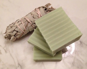 White Sage Smudging Soap