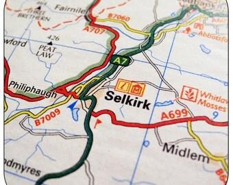 Selkirk Map Coasters