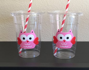 Valentine party cups