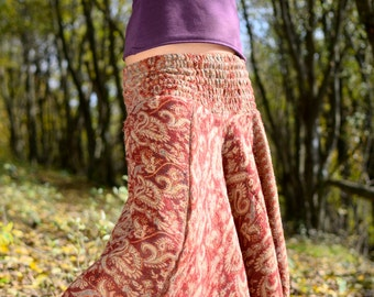 Alibabatrouser made from wool, Woolentrouser, Wintertrouser, Afghanitrouser for woman, warm Hippietrouser fro the winter