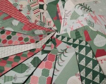 Set of 18 Small Christmas Tip & Gift Card Envelopes