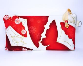 Wet Bag, Butterflies Makeup Bag, Water Resistant Pouch for Reusable Feminine Pads, Cosmetic Pouch, Pencil Case, PUL Diaper Bag