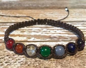 Chakra Healing Bracelet / Healing Crystal Bracelet / Chakra Bracelet / Chakra Jewelry / Chakra / Balance