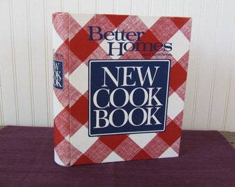 Better Homes and Gardens New Cook Book, Vintage Cookbook, 1989