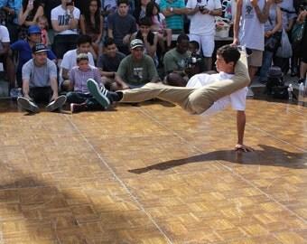 Hip Hop B-Boy, Breakdancing, Pop Locking, Culture Art Photography