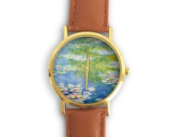 Monet's The Water Lilies Watch
