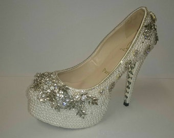 Wedding, prom or formal shoes Christian louboutin Paris pumps