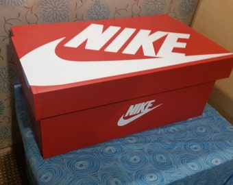 XL Trainer Storage Box, Nike Giant Sneaker Box (fits 6 8no Pairs Of