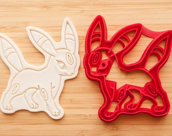 pokemon Umbreon Cookie cutters