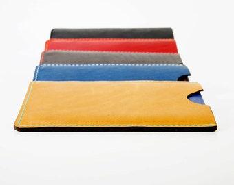 Passport Sleeve, Leather Passport Sleeve, Horween Leather Passport Sleeve