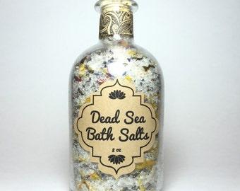Dead Sea Bath Salts - 8 oz