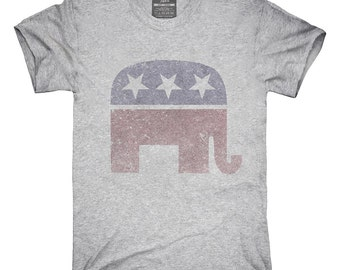 Vintage Republican Elephant Election T-Shirt, Hoodie, Tank Top, Gifts