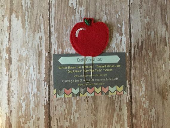 Apple Paper Clip