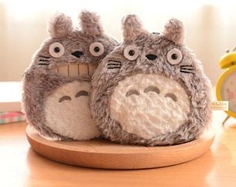 Kawaii Fluffy Totoro Pouch or Coin Purse