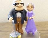 Cake Topper Carl Fredricksen and Ellie Fredricken UP!