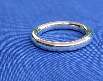 Handmade Sterling Silver Ring / Wedding Band