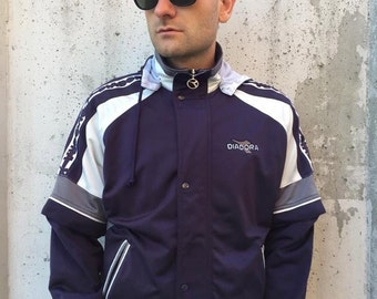 Vintage Diadora Jacket with Detachable Sleeves (5)