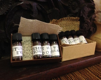 Sensual Sample Pack ~ Natural Perfumes
