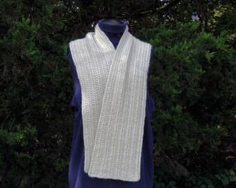 Alpaca Scarf, Hand Knit