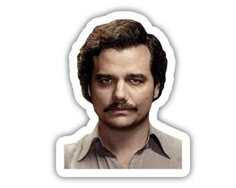 Pablo Escobar Narcos Vinyl Decal Sticker