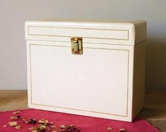 Mid Century Cardboard File Box