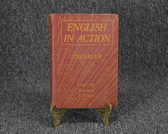English In Action Book Two Revised Edition By Tressler C.1935