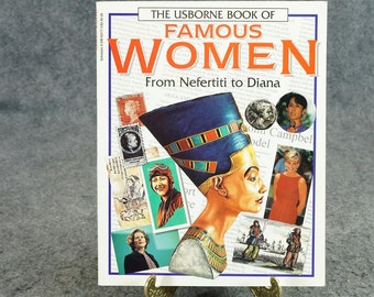 Usborne Book Of Famous Women By Richard Dungworth & Philippa Wingate C. 1996.