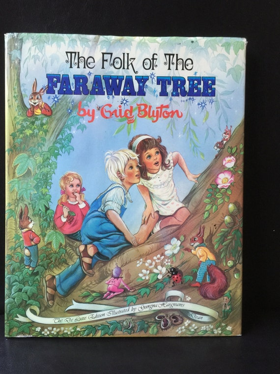 ENID BLYTON Vintage Dean Book CHILDREN OF CHERRY TREE FARM H/C 1986 BK 39 IN