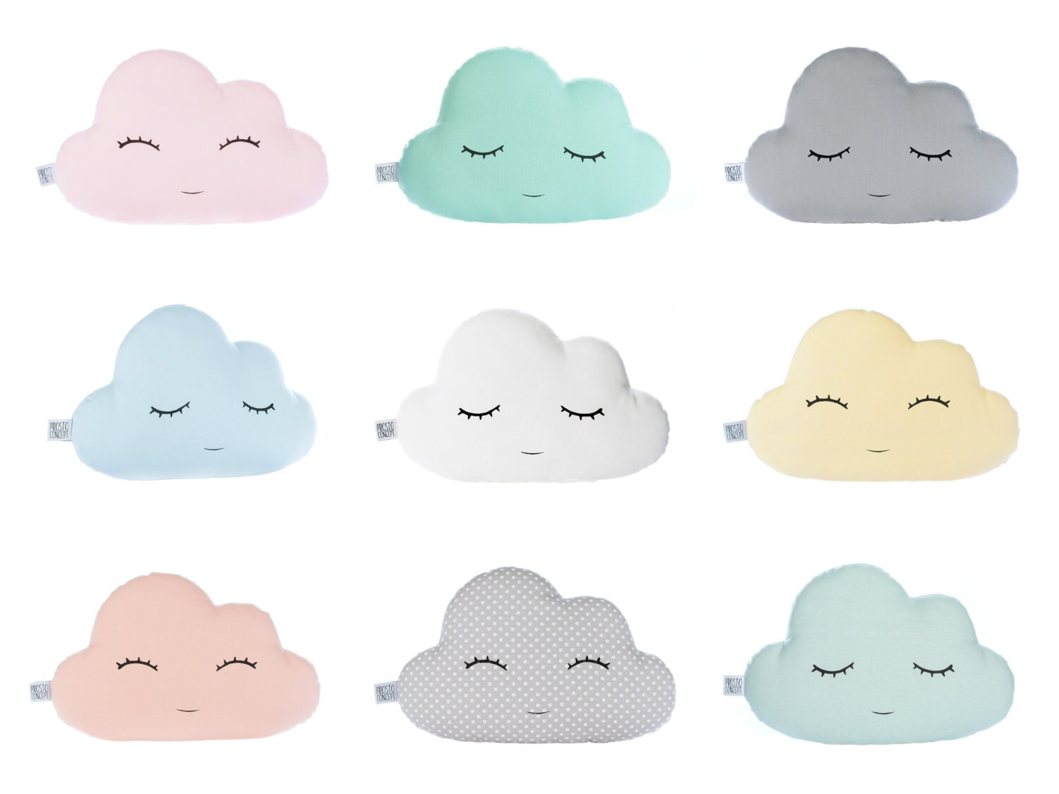 Cloud Pillow Cloud Cushion Baby Pillow Personalized Gift