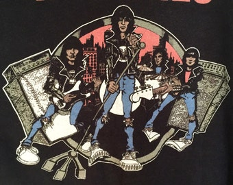 Reserved for Bre - Vintage Ramones Tour Tee - Reserved for Bre
